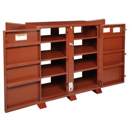 Utility Shelves Walmart Enchanting JOBOX 6060 Extra HeavyDuty 60Door Utility Cabinet With Door