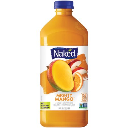 Naked Mighty Mango All Natural Fruit Juice Smoothie 15.2