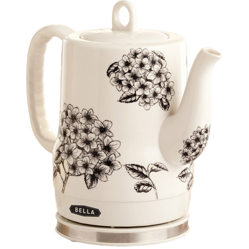 Bella Ceramic Kettle, Floral by SENSIO INC