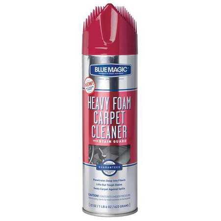 Blue Magic 912 06 Foam Carpet Cleaner W Stain Guard 22 Oz