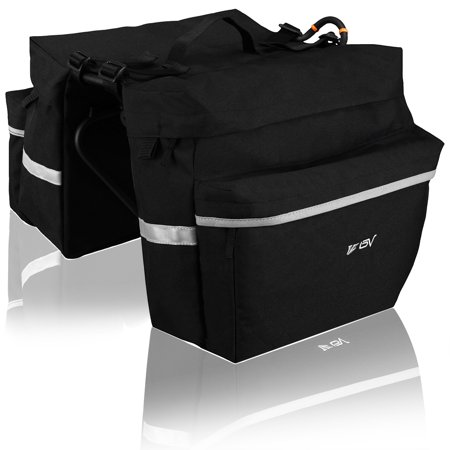 Traveller Pannier - BV Bicycle Panniers with Adjustable Hooks and Carrying Handle
