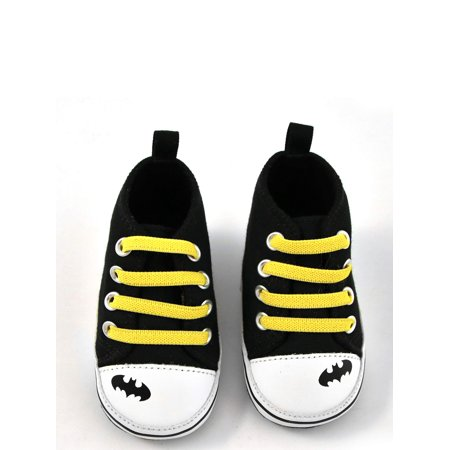 Rising Star Boys' Batman High-Top Sneaker (All Star Converse For Baby Boy)