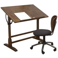 Studio Designs Vintage Drafting Table, 42'' x 30'' Workspace