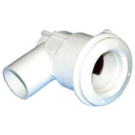 Waterway Plastics 211-1050 0.375 x 0.75 in. Mini Jet Adjust body Standard Mini Jet Body