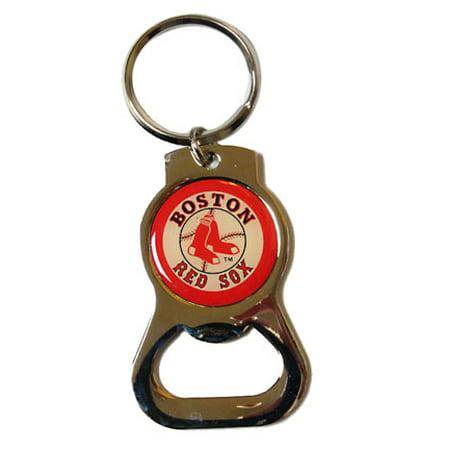 boston red sox bottle opener key tag. Black Bedroom Furniture Sets. Home Design Ideas