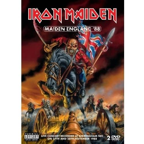 Maiden England '88 (2 Music DVD) (Explicit)