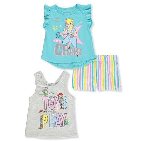 Disney Toy Story Girls' 3-Piece Shorts Set Outfit](Little Girl In Toy Story 3)