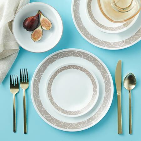 Corelle Stoneware (Corelle Livingware Sand Sketch 16-Piece Dinnerware)