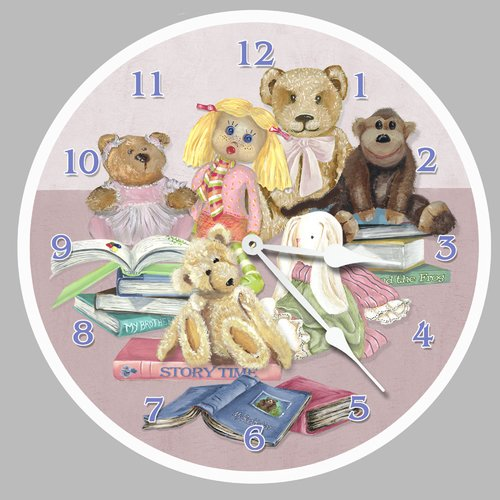 Lexington Studios 10'' Story Time Wall Clock by