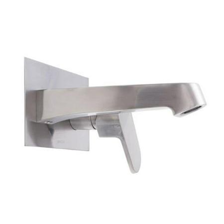 Dyconn Faucet Signature Series Single Handle Modern Wall Mount Bath Faucet