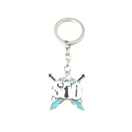Sword Art Online Blue Fashion Novelty Keychain Anime Manga