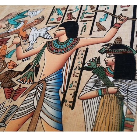 Peel-n-Stick Poster of Pharaohs Egypt History Papyrus Egyptian Ancient Poster 24x16 Adhesive Sticker Poster - Egyptian Pharo