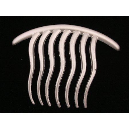 CARAVAN® CONTEMPORARY SEVEN ( 7) TOOTH FRENCH TWIST COMB WITH WAVY TEETH IN GOLD OR SILVER