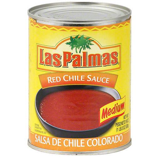 Las Palmas Medium Red Chile Sauce, 19 oz (Pack of 12)