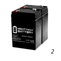 6V 4.5AH Battery Replaces Craftsman Garage Door Opener 53918 - 2 Pack
