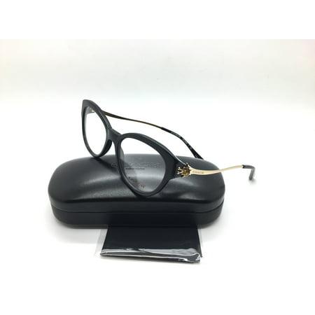 Coach New Authentic Black Light Gold Women Eyeglasses Hc6093 5308 52 17 135