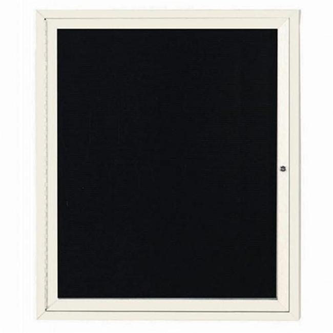 Aarco Products ADC3630IIV Illuminated Enclosed Directory Board - Ivory