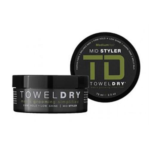 Towel Dry Mid Styler, Medium Hair, 2.5 oz (Pack of 6)