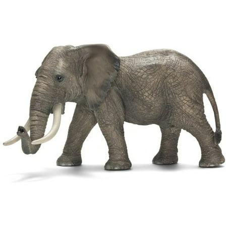 Schleich Male African Elephant Figurine