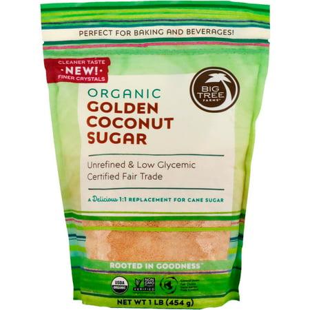 Big Tree Farms  Organic Golden Coconut Sugar  1 lb  454 g