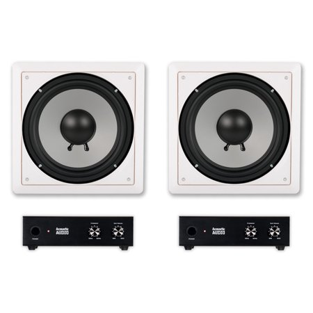 Cs10 Stereo - Acoustic Audio CS-IW10SUB In Wall 10
