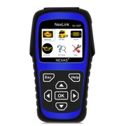 Nexas NL102 Plus Heavy Duty Trucks DPF Regeneration Oil Service Reset Sensor Calibration + OBD2 Scanner Check Engine Light Code Reader Read & Erase Fault Codes OBDII Auto Cars Diagnostic Scan Tool