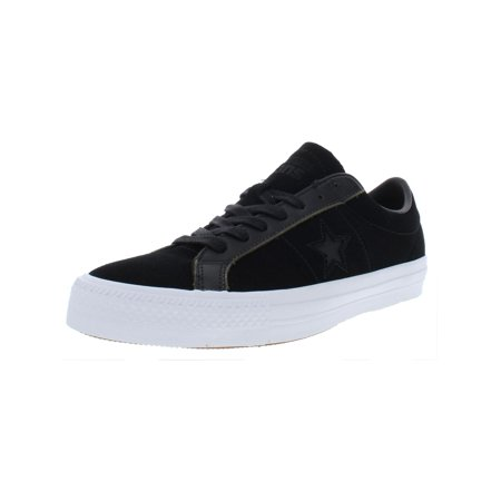 Converse Mens One Star Pro Ox Suede Low Top Casual Shoes Converse One Star Suede