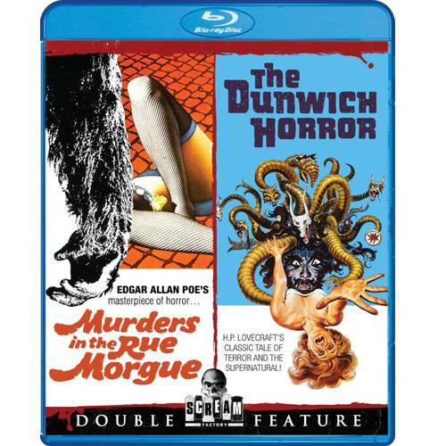 Murders In The Rue Morgue / The Dunwich Horror (Blu-ray) CINBRSF16550