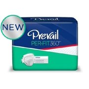 Prevail Per-Fit360 Heavy Absorbency Adult Brief, Large, Size 2, 72 Ct