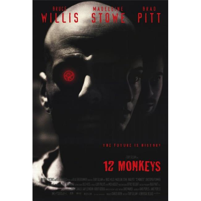 Posterazzi MOVIF8192 12 Monkeys Movie Poster - 27 x 40 in. - image 1 of 1