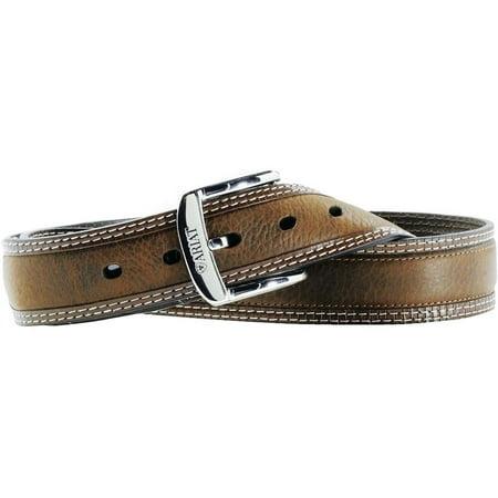 Ariat Western Belt Mens Leather Diesel Brown Oiled Rowdy A10004305