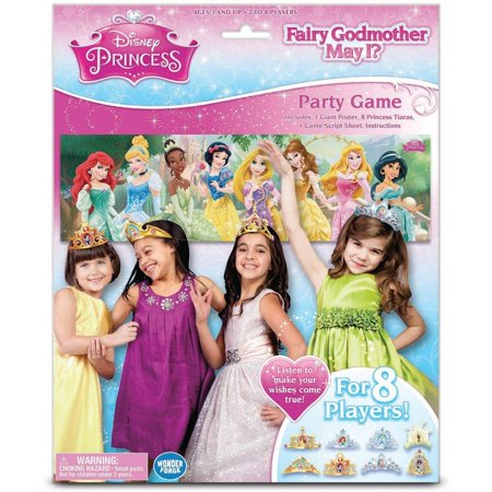 Disney Princess Fairy Godmother May I  Party Game