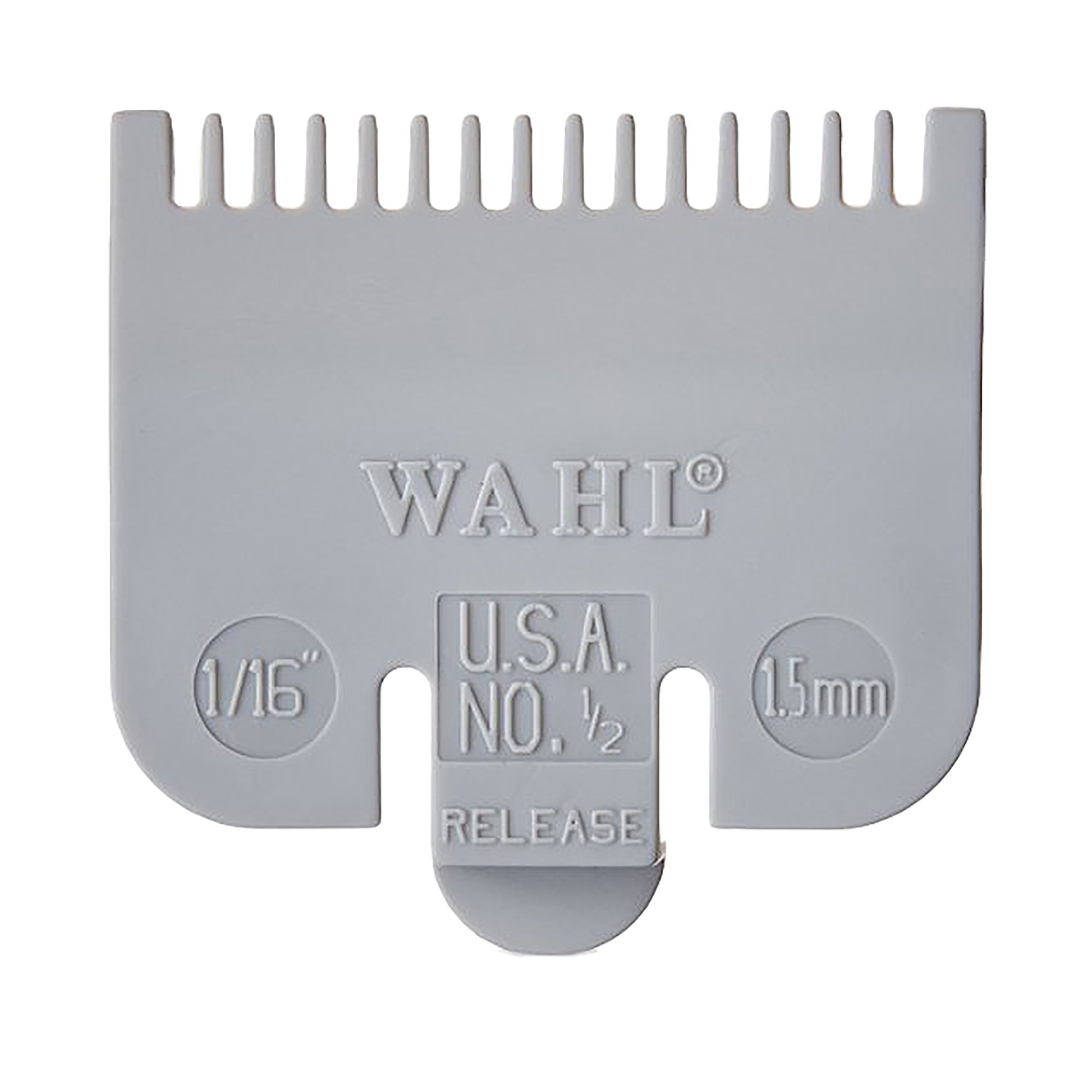 """Wahl Professional Color Coded Comb Attachment #3144-603 – Red #1 – 1/8"""" 1 ea"""