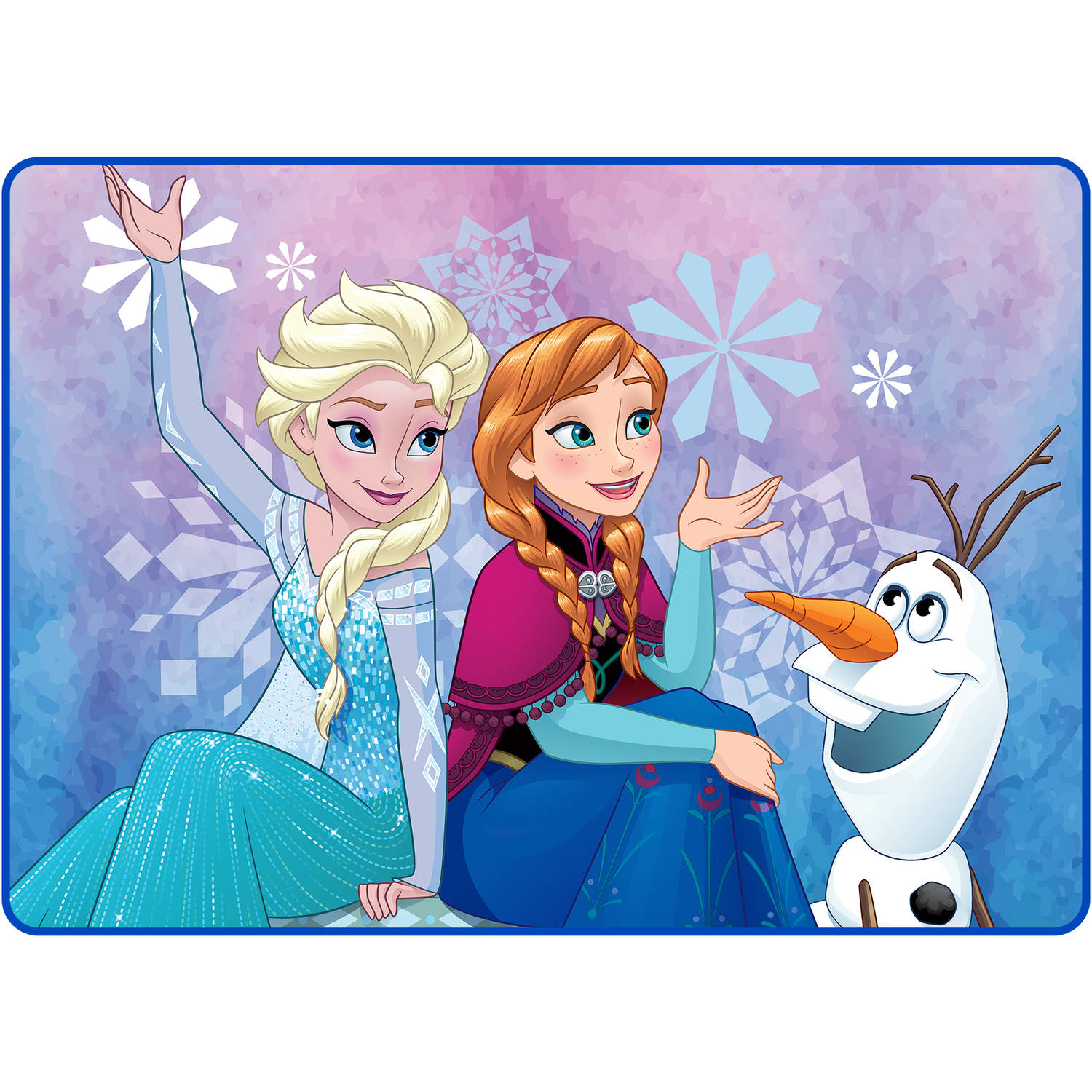 "Disney's Frozen Winter Snow 40"" x 56"" Accent Rug"