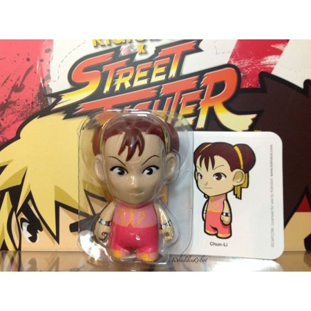 Street Fighter Chun Li Collectible Mini Figure By - Pink, Mini figure approx. 3