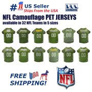 huge discount 0b7f3 53b61 Pets First NFL Buffalo Bills Camouflage Pet Jersey for Cats and Dogs -  Licensed