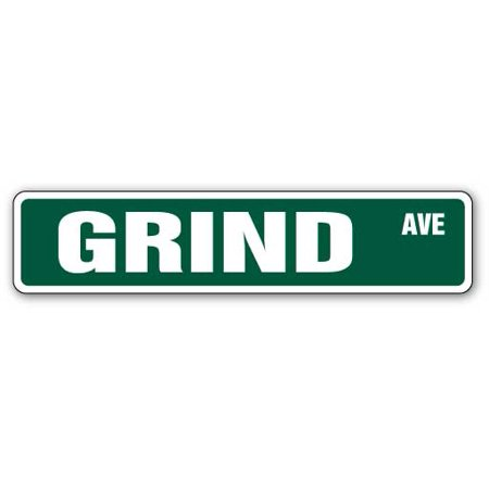 GRIND Street Sign skate skateboard trick move board | Indoor/Outdoor |  24