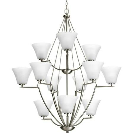 3 tier chandelier gold progress lighting p4687 bravo 38