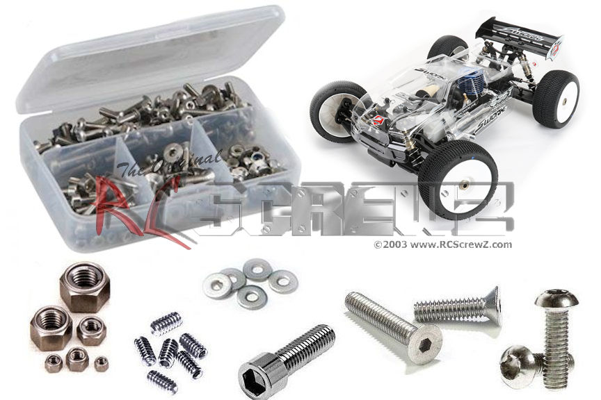XXL Schrauben-Set SWORKz S35-GT Stahl hochfest sworkz screw kit