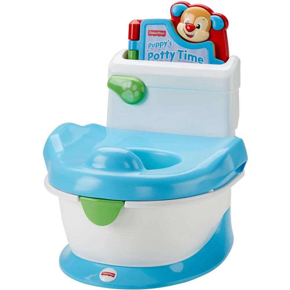 Click here to buy Fisher Price Laugh & Learn, Learn with Puppy Potty & Electronic Book by Fisher-Price.