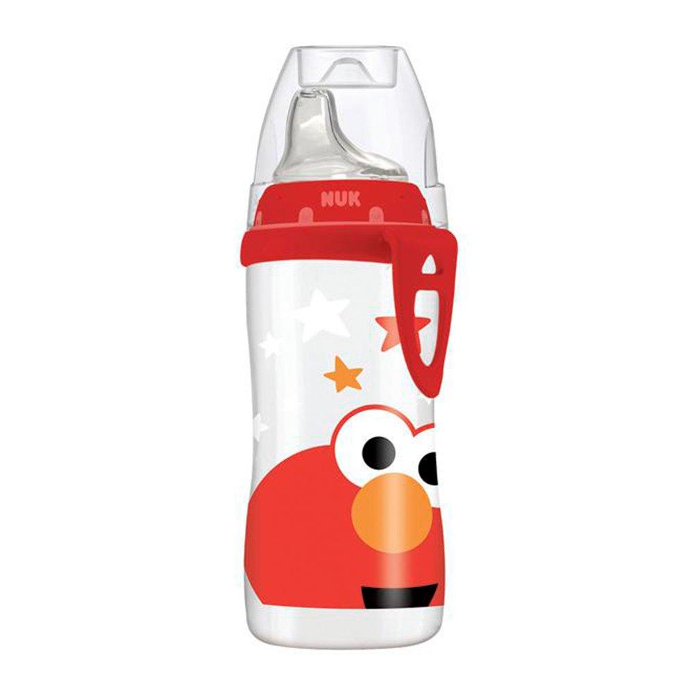 NUK Sesame Street Elmo Active Soft Spout Sippy Cup, 10 oz