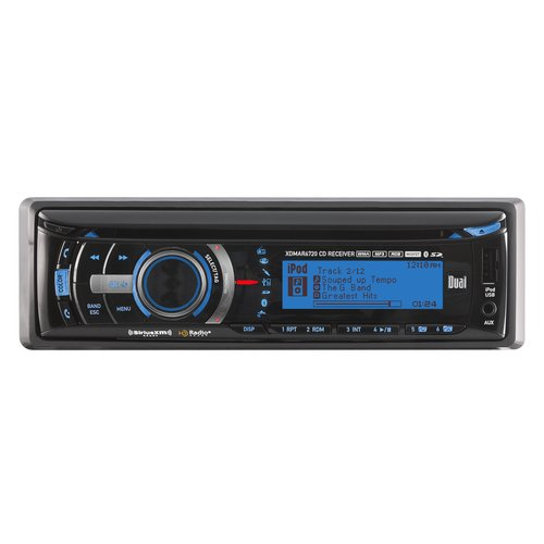 Dual Receiver with SD slot, USB and Bluetooth
