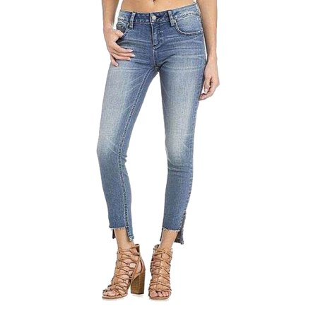 Miss Me Ankle Zipper Skinny Jeans (Miss Me Colored Jeans)