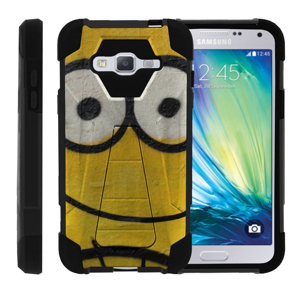 Samsung Galaxy J3 |Amp Prime | Express Prime| Samsung Sol| J3V Case Full Body High Impact Hybrid Cover with Kickstand Street Art by Miniturtle® - Abstract Graffiti