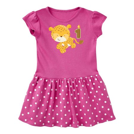 Jungle Dress For Kids (Leopard jungle 1st Birthday Infant)
