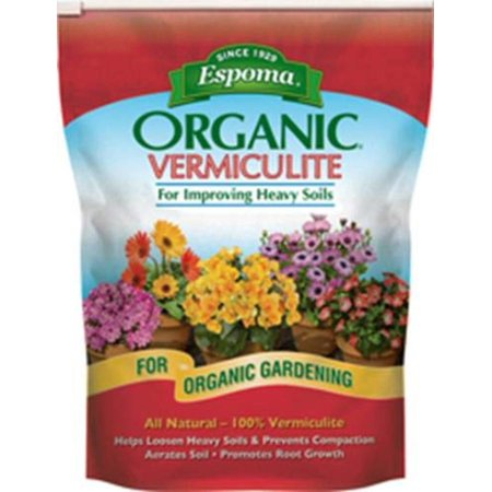 Image of VM8 8-Quart Organic Vermiculite - Brown/A, All natural 100% Vermiculite to improve heavy soils By Espoma