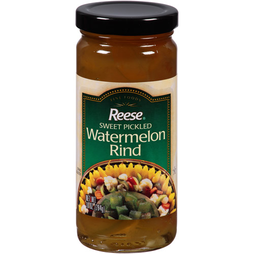 Reese Sweet Pickled Watermelon Rind, 10 oz, (Pack of 12)