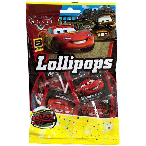 Disney Cars Party Lollipops, 8pk