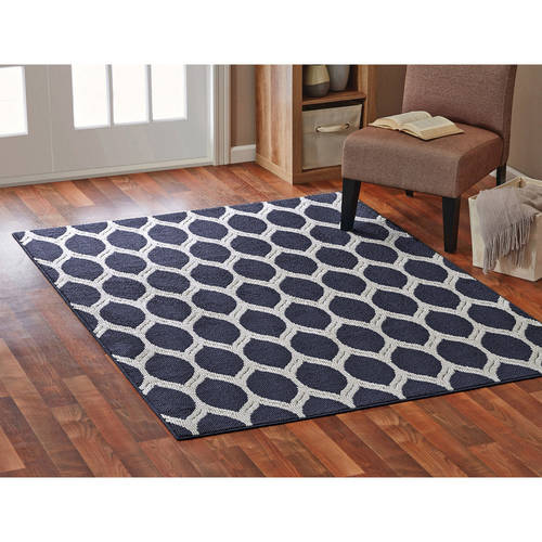 Mainstays Sheridan Ogee Area or Runner Rug