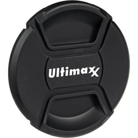 Ultimaxx 52 mm Snap-On Pincez Lens Cap, Caméra protection objectif de couverture pour Nikon, Canon, Sony et autres appareils photo reflex numériques - image 1 de 1